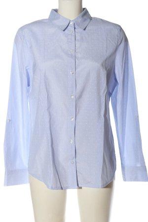 Bexleys Chemise à manches longues bleu imprimé allover style d'affaires