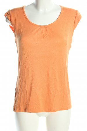 Bexleys Long Shirt light orange casual look