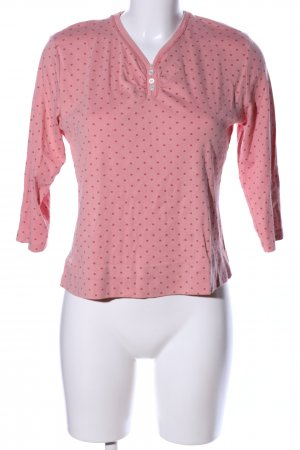 Bexleys Longsleeve pink-red spot pattern casual look