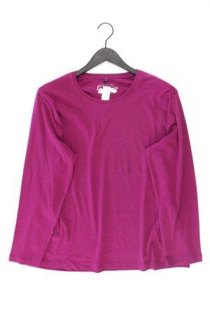 Bexleys Longsleeve-Shirt Größe XXL Langarm lila aus Baumwolle
