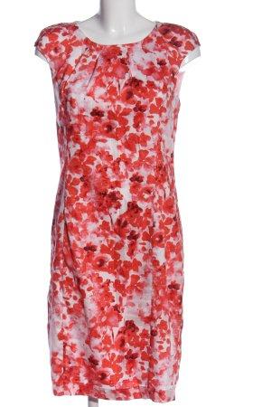 Bexleys Midikleid pink-creme Allover-Druck Casual-Look