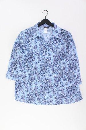 Bexleys Oversized blouse blauw-neon blauw-donkerblauw-azuur Katoen