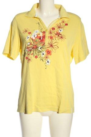 Bexleys Koszulka polo Wzór w kwiaty W stylu casual