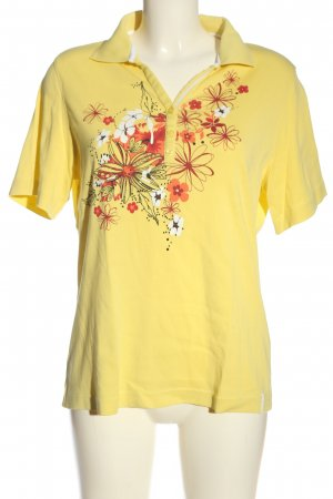 Bexleys Polo-Shirt Blumenmuster Casual-Look