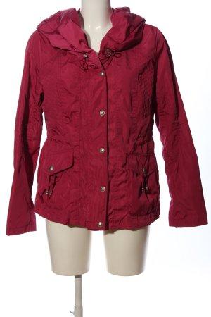 Bexleys Impermeabile rosso stile casual