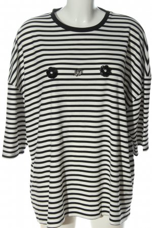 Bexleys Stripe Shirt white-black allover print casual look