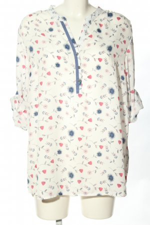 Bexleys Slip-over Blouse allover print casual look