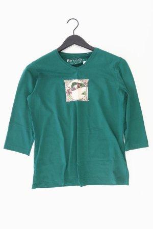 Bexleys Shirt Größe M grün aus Baumwolle