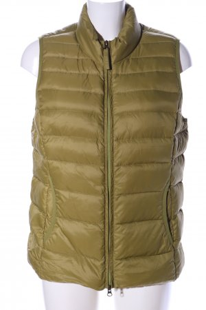 Bexleys Quilted Gilet khaki quilting pattern casual look