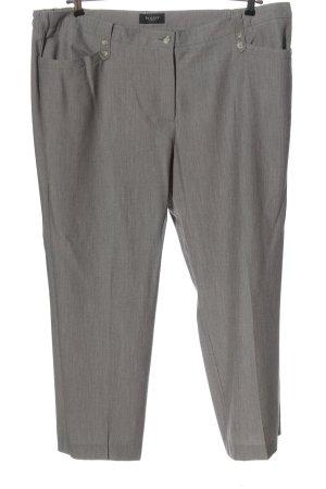 Bexleys Stoffen broek lichtgrijs gestippeld zakelijke stijl