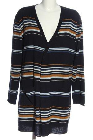 Bexleys Cardigan in maglia motivo a righe stile casual