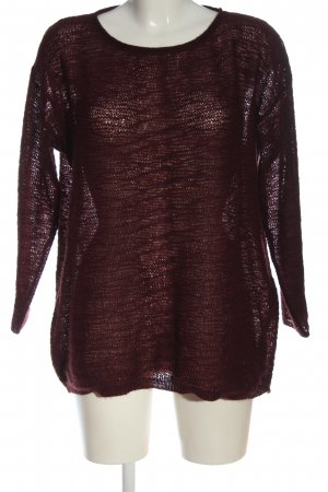 Bexleys Knitted Sweater red casual look