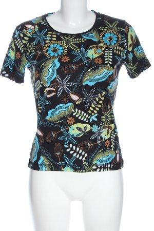 Bexleys Camicia maglia stampa integrale stile casual