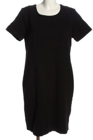Bexleys Vestido de tela de sudadera negro look casual