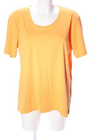 Bexleys T-Shirt hellorange Casual-Look