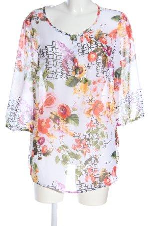 Bexleys Blusa trasparente motivo floreale stile casual