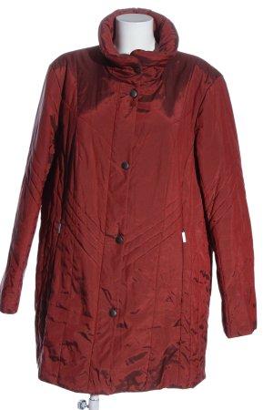 Bexleys Übergangsjacke rot Steppmuster Casual-Look