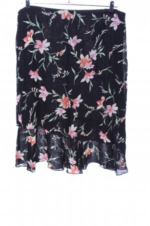 Bexleys Flounce Skirt allover print casual look