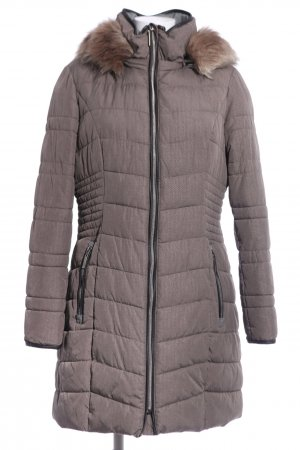 Bexleys Wintermantel braun Steppmuster Casual-Look