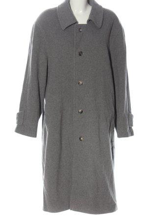 Bexleys Cappotto in lana grigio chiaro puntinato stile casual