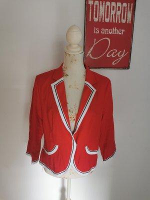 Bexley's Woman Tweed Blazer multicolored linen