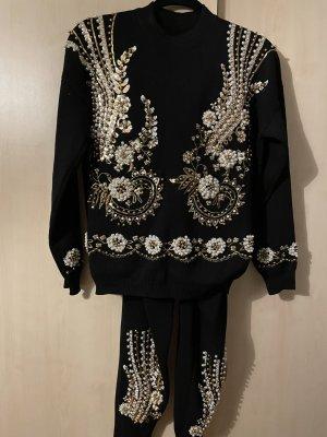 Bey Azura Ensemble en tricot noir