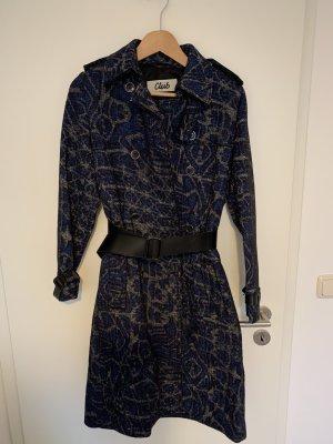 Beymen Płaszcz przejściowy czarny-niebieski