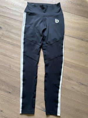 Beyond Limits Pantalon de sport noir-crème