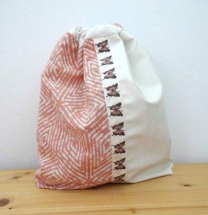 Bezaubernder Beutel/Aufbewahrung für Accessoires, Schmuck, Kosmetik - #Bag-in-Bag #Einzelstück