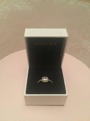 Pandora Statement Ring white-rose-gold-coloured