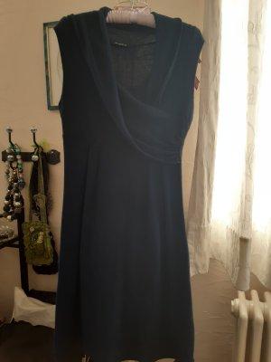 sisters Vestido de manga corta azul