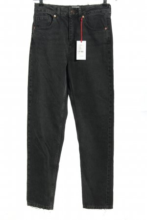 BGD Urban Outfitters Jean mom gris clair style décontracté