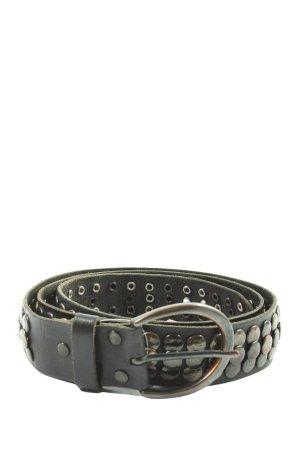 bgm Cintura borchiata nero stile casual
