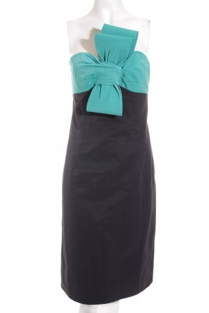 BGN Cocktail Dress black-turquoise elegant