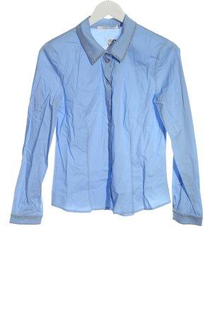 BGN Koszula z długim rękawem niebieski W stylu casual