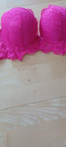 Censored Bra neon pink