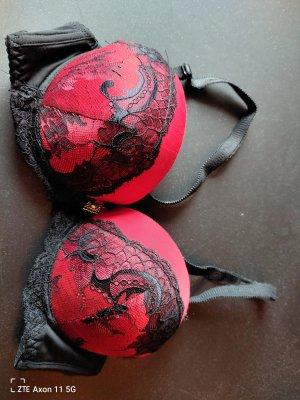 unknown Bra black-red