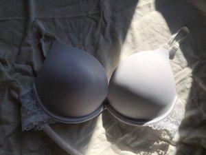 BH (pink & weiß) (Größe 75C)