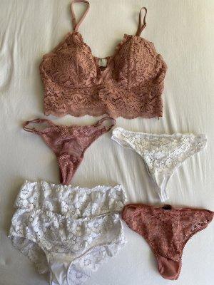 BH Set rosa weiß