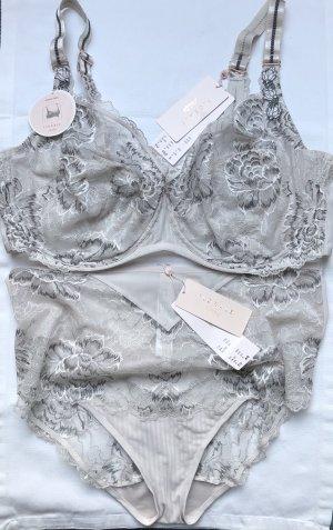 Triumph Ensemble de lingerie gris clair-gris