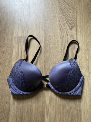 Pink Victoria's Secret Soutien-gorge noir-gris violet