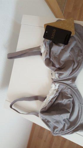 Soutien-gorge blanc-gris clair