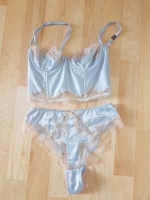 Victoria's Secret Biustonosz błękitny