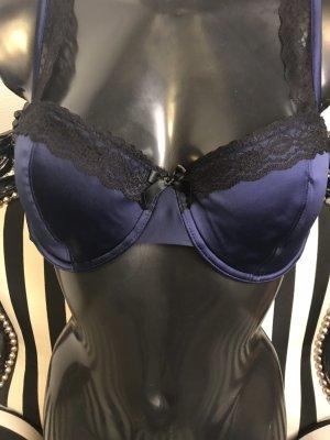 Bra black-dark blue