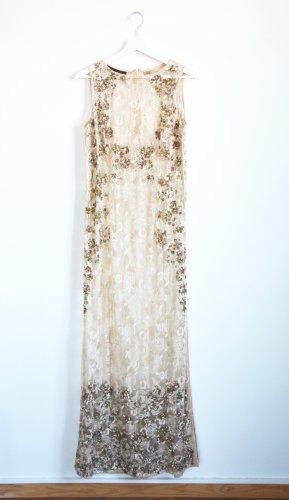 BHLDN Kavita Bhartia Spitzenkleid Lette Kleid Spitze Handmade S