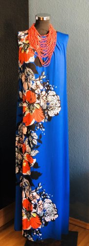 BHS Maxi Dress cornflower blue-orange