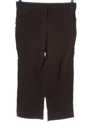 Biaggini Pantalone a 3/4 marrone stile casual
