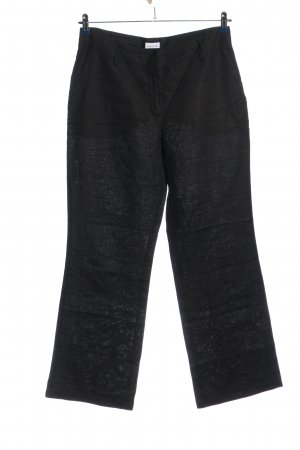 Biaggini Baggy Pants schwarz meliert Casual-Look