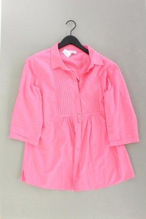 Biaggini Bluse Größe 44 pink aus Baumwolle