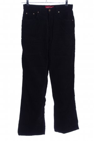 Biaggini Corduroy Trousers black casual look